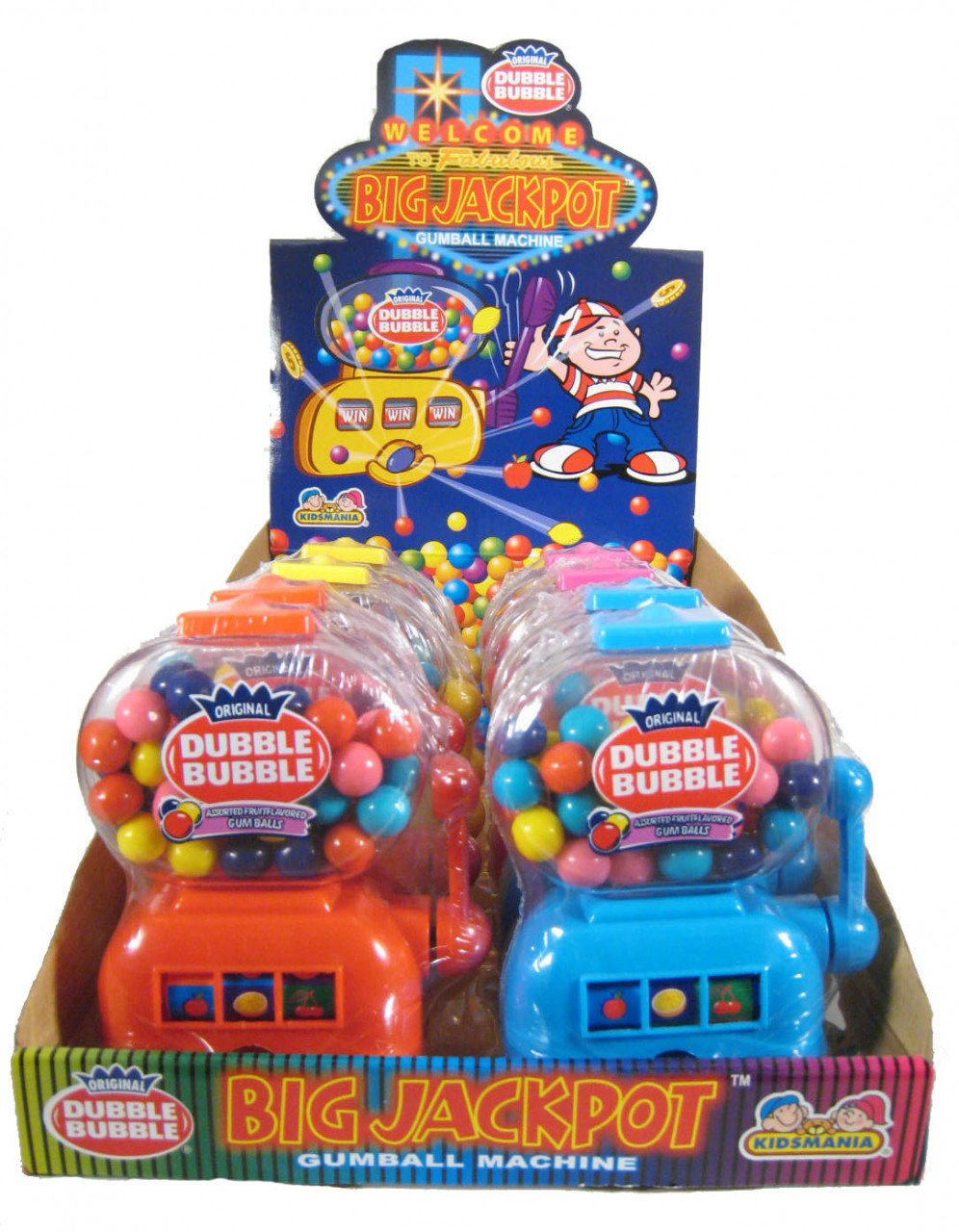 category kidsmania candy jackpot slot machine dispenser every time